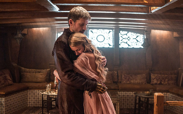 Game of Thrones, Series 5,Episode 10,Mother's Mercy,Sky Atlantic, Coster-Waldau, Nikolaj;Tiger Free, Nell as Jaime Lannister;Myrcella Baratheon