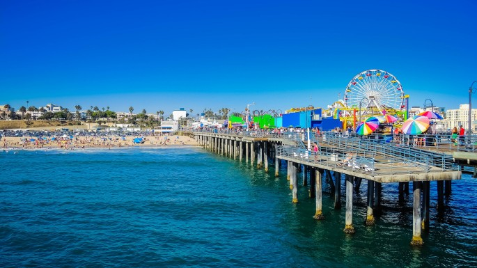 Santa-Monica-pier-California