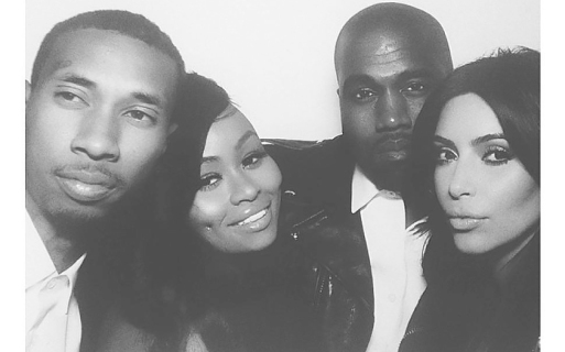 tyga_blac_chyne_kanye_west_kim_kardashian_wedding_instagram